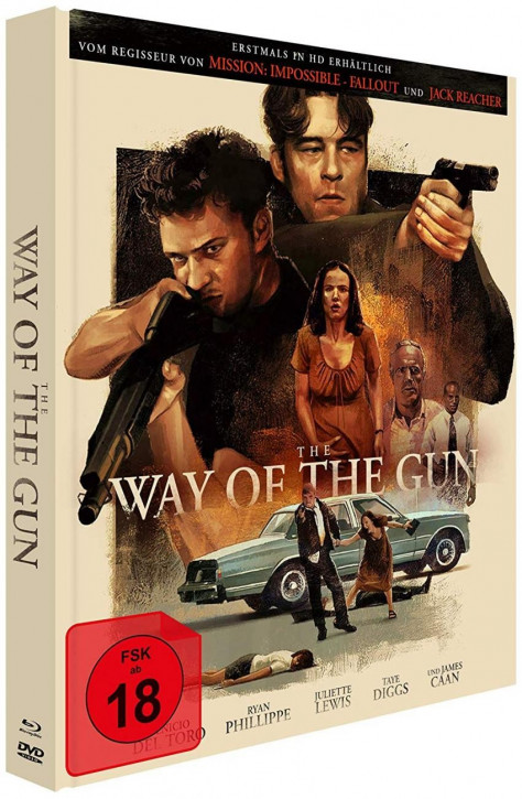 The Way of the Gun  - Limited Mediabook Edition - Cover B [Blu-ray+DVD]