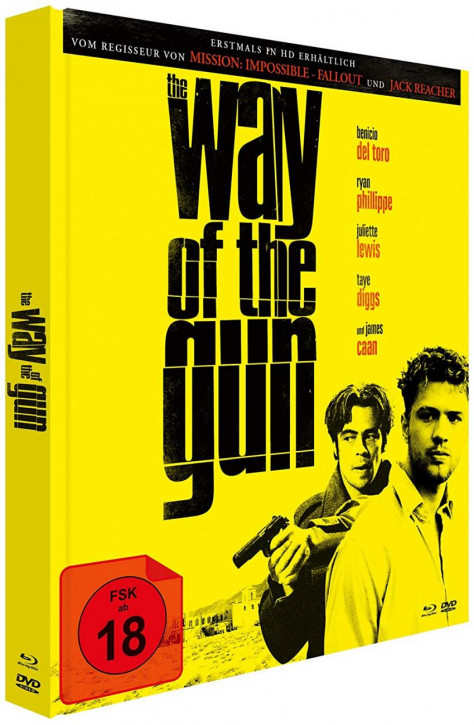 The Way of the Gun  - Limited Mediabook Edition - Cover A [Blu-ray+DVD]