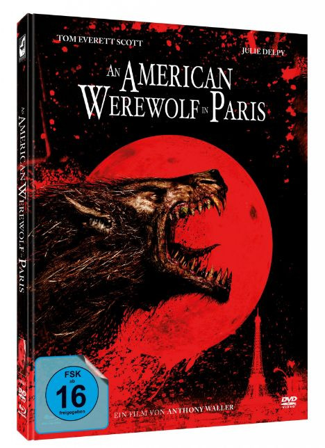 An American Werewolf in Paris - Limited Mediabook Edition [Blu-ray+DVD]