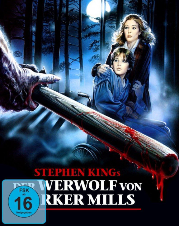 Stephen Kings: Der Werwolf von Tarker Mills - Limited Mediabook Edition [Blu-ray+DVD]