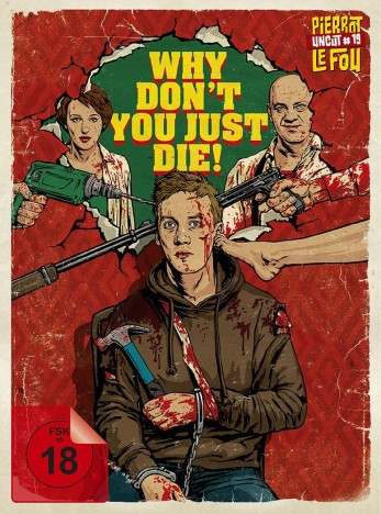Why Don't You Just Die! - Limited Edition Mediabook [Blu-ray+DVD]