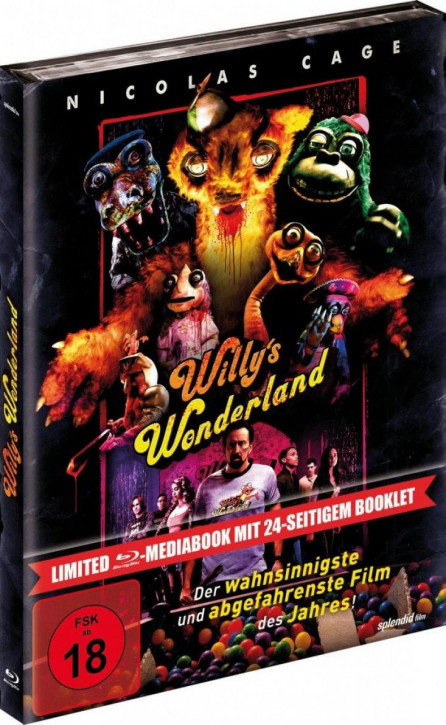 Willys Wonderland - Limited Mediabook Edition [Blu-ray]