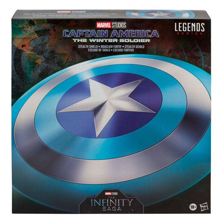 Marvel Legends Serie: The Infinity Saga - The Return of the First Avenger - Stealth Schild
