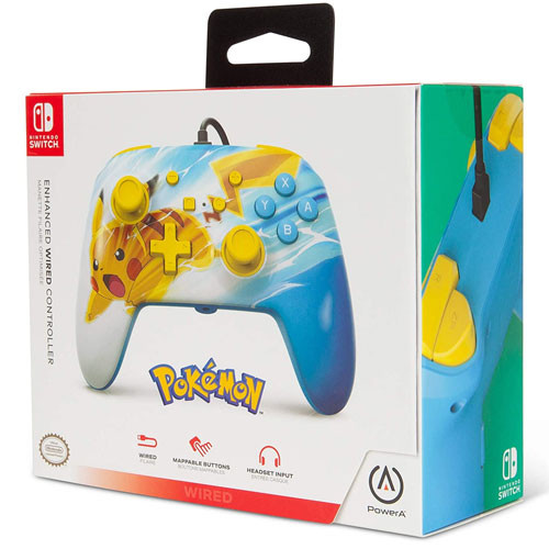 PowerA - Wired Controller - Pikachu [Nintendo Switch]