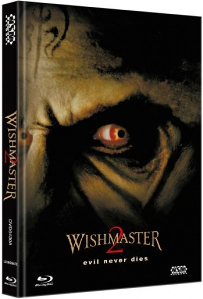 Wishmaster 2 - Das Böse stirbt nie - Limited Collector's Edition - Cover A [Blu-ray+DVD]