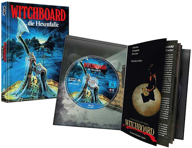 Witchboard - Die Hexenfalle - Limited Puzzle Edition - Cover A [Blu-ray+DVD]
