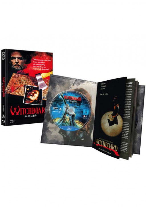 Witchboard - Die Hexenfalle - Limited Puzzle Edition - Cover C [Blu-ray+DVD]