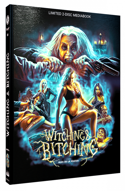 Witching & Bitching - Limited Mediabook Edition - Cover A [Blu-ray+DVD]