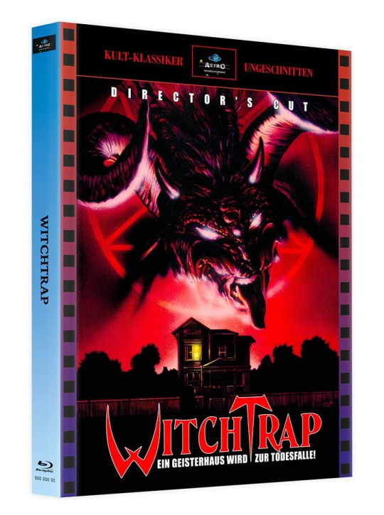 Witchtrap - Director's Cut - Mediabook - Cover A [Blu-ray]