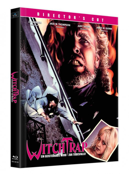 Witchtrap - Director's Cut - Mediabook - Cover B [Blu-ray]