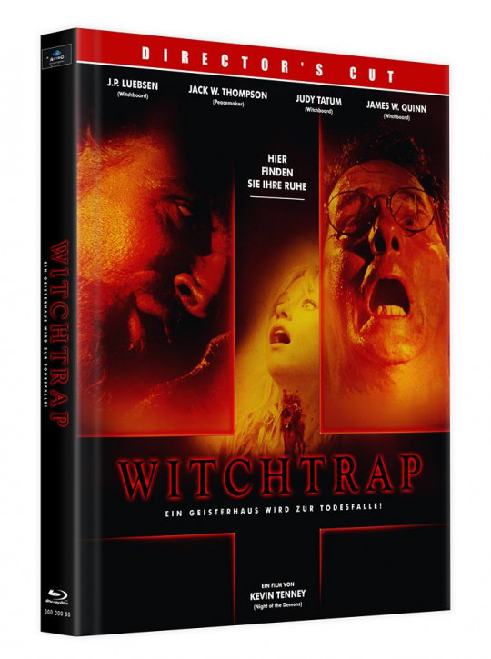 Witchtrap - Director's Cut - Mediabook - Cover D [Blu-ray]