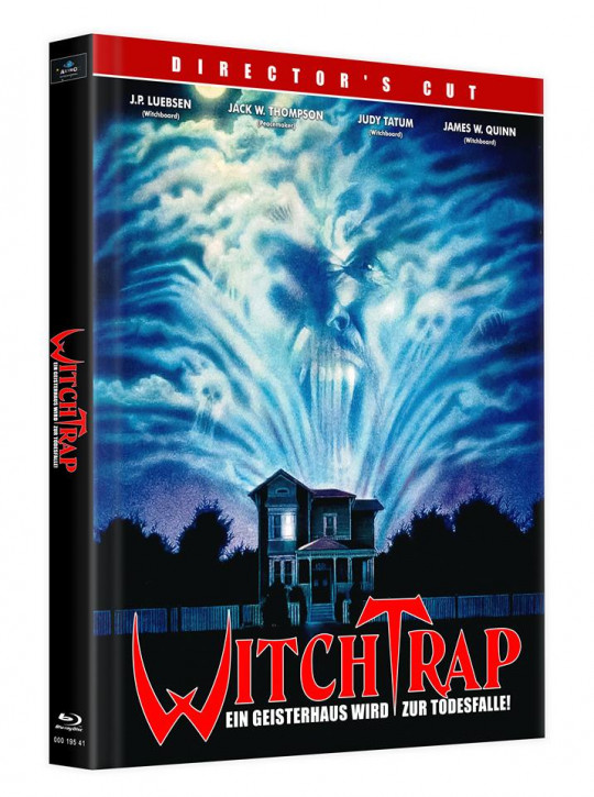 Witchtrap - Director's Cut - Mediabook - Cover E [Blu-ray]
