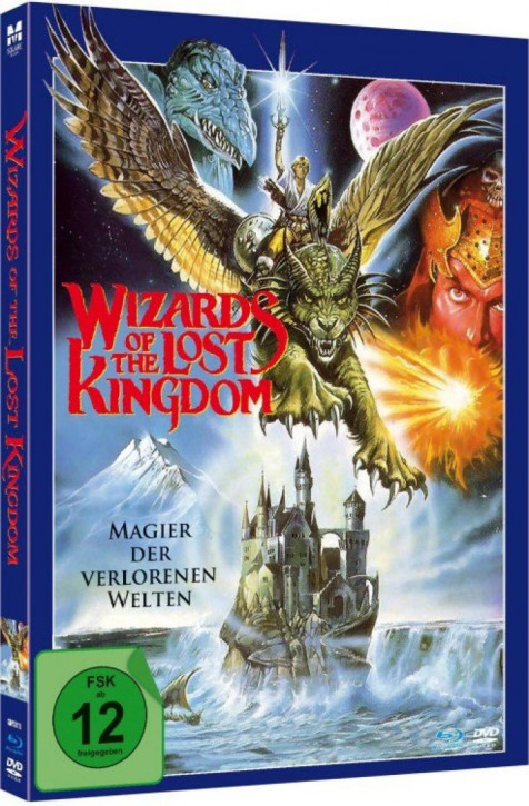 Wizards of the Lost Kingdom - Limited Mediabook Edition - [Blu-ray+DVD]