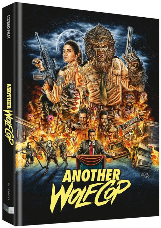 Another Wolfcop - Limited Collectors Edition - Cover B [Blu-ray+DVD]
