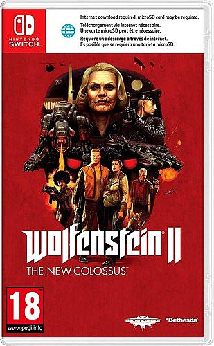 Wolfenstein II: The New Colossus (PEGI Uncut) (UK) [Nintendo Switch]