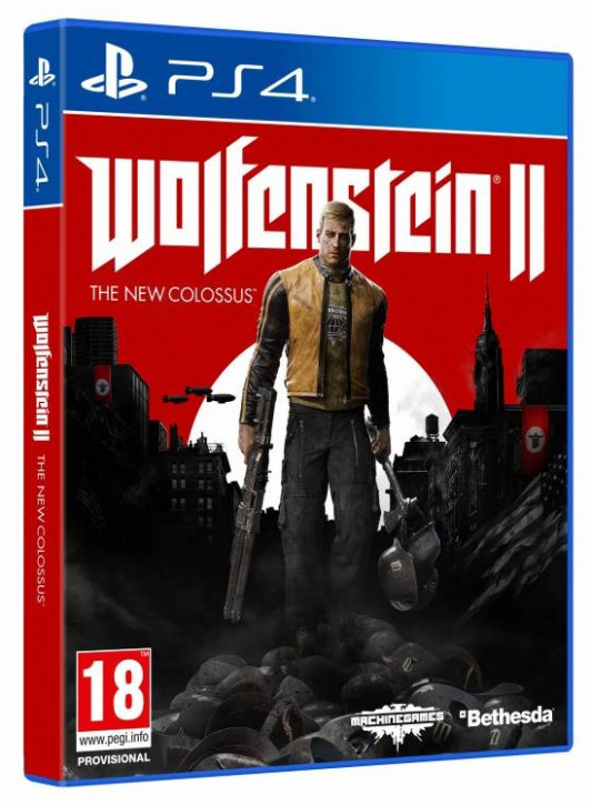 Wolfenstein II: The New Colossus (PEGI Uncut) (UK) [PS4]