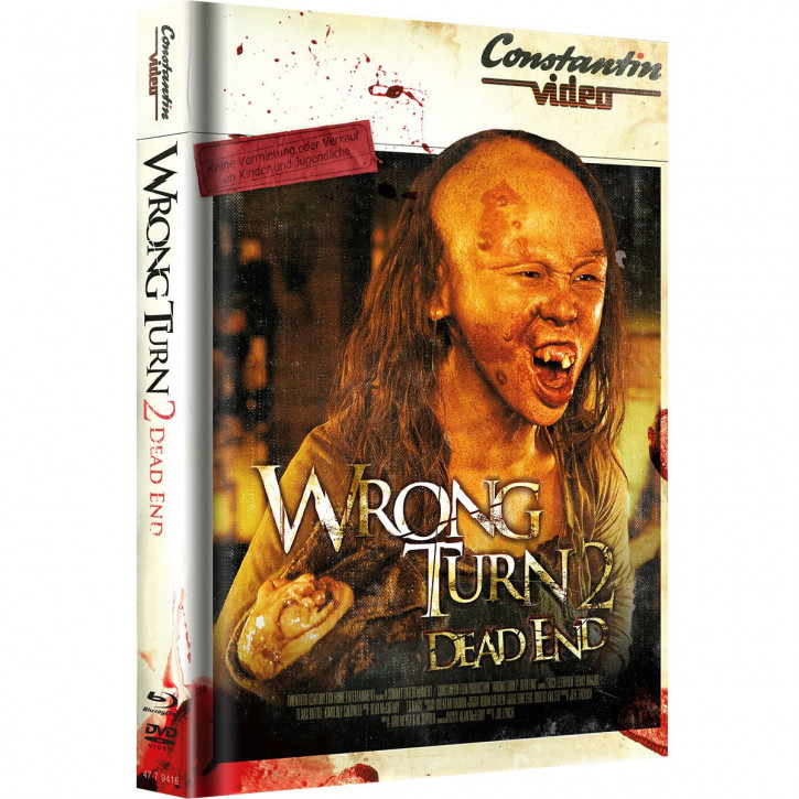 Wrong Turn 2 - Limited Mediabook Edition - Retro Cover [Blu-ray+DVD]