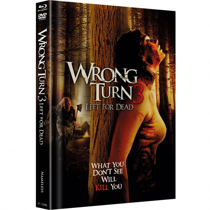 Wrong Turn 3 - Limited Mediabook Edition - Original Cover [Blu-ray+DVD]