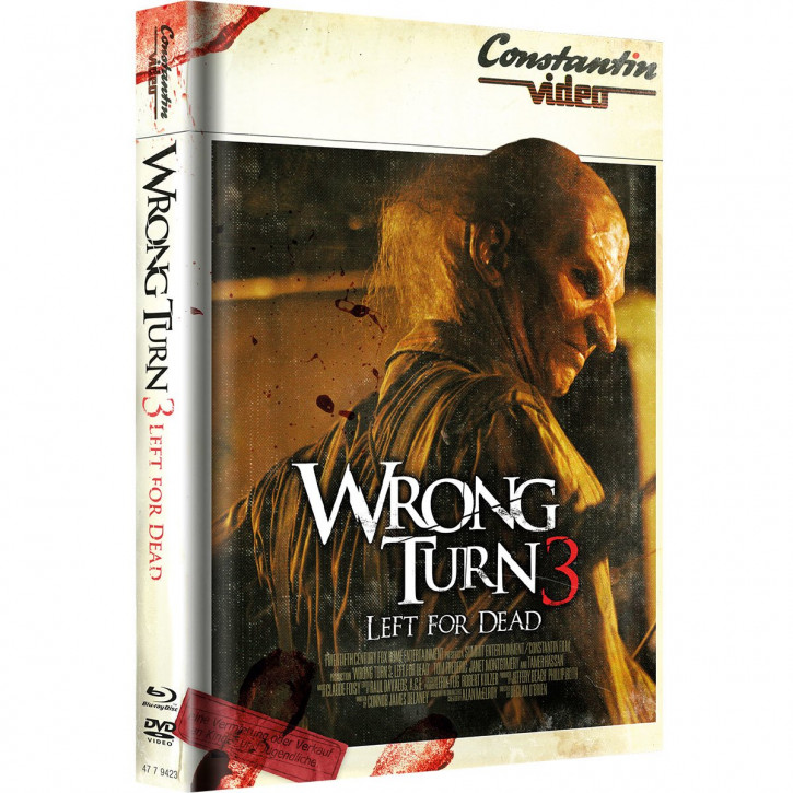 Wrong Turn 3 - Limited Mediabook Edition - Retro Cover [Blu-ray+DVD]