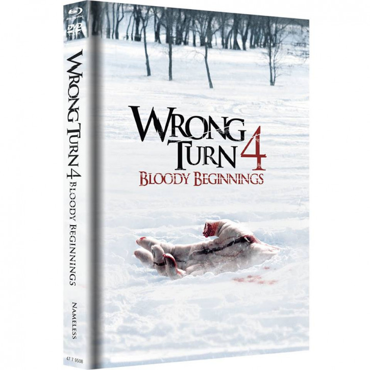 Wrong Turn 4 - Limited Mediabook Edition - Original Cover [Blu-ray+DVD]