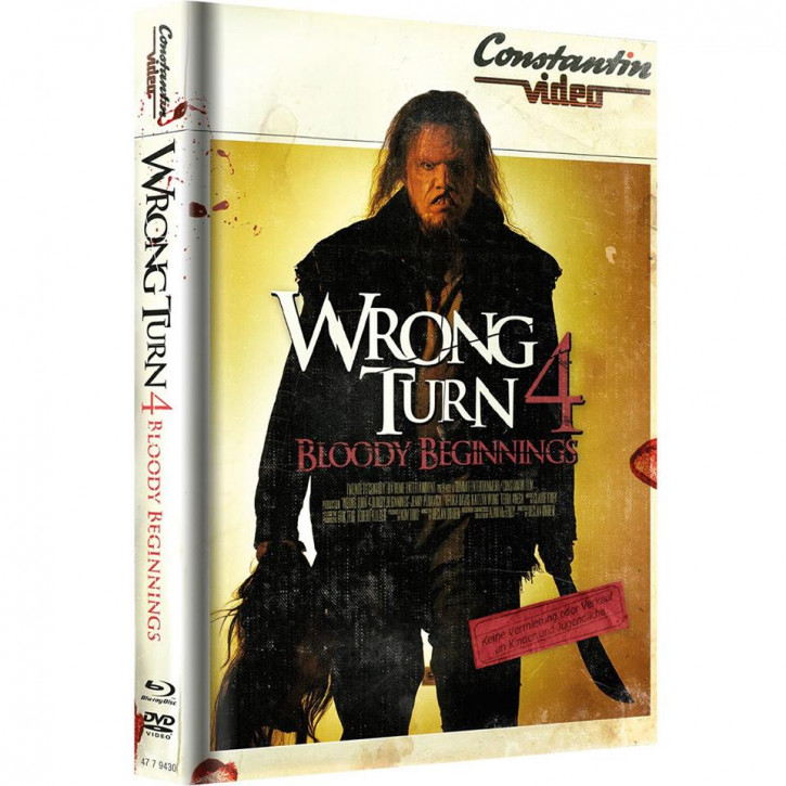 Wrong Turn 4 - Limited Mediabook Edition - Retro Cover [Blu-ray+DVD]