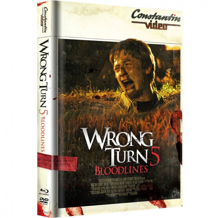 Wrong Turn 5 - Limited Mediabook Edition - Retro Cover [Blu-ray+DVD]