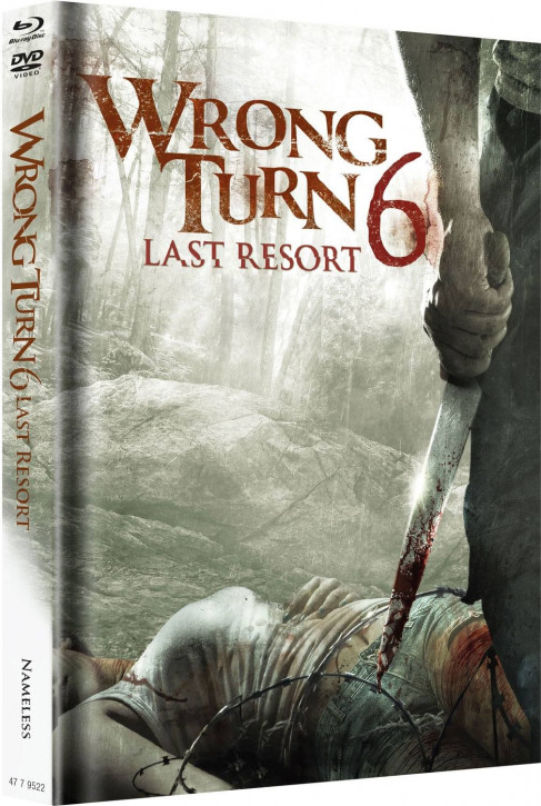Wrong Turn 6 - Limited Mediabook Edition - Original Cover [Blu-ray+DVD]