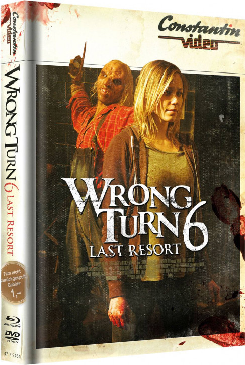 Wrong Turn 6 - Limited Mediabook Edition - Retro Cover [Blu-ray+DVD]