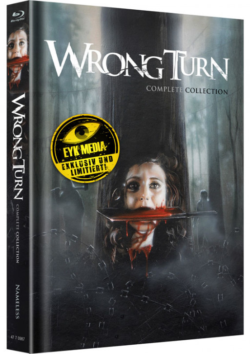 Wrong Turn 1-6 - Complete Collection - Mediabook - Cover A [Blu-ray+DVD]