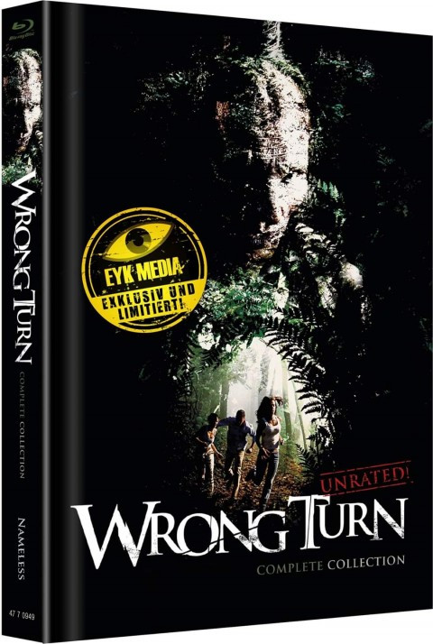 Wrong Turn 1-6 - Complete Collection - Mediabook - Cover C [Blu-ray+DVD]