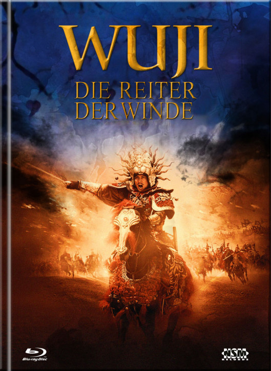 WU JI - Die Reiter der Winde - Limited Mediabook Edition - Cover A [Blu-ray+DVD]