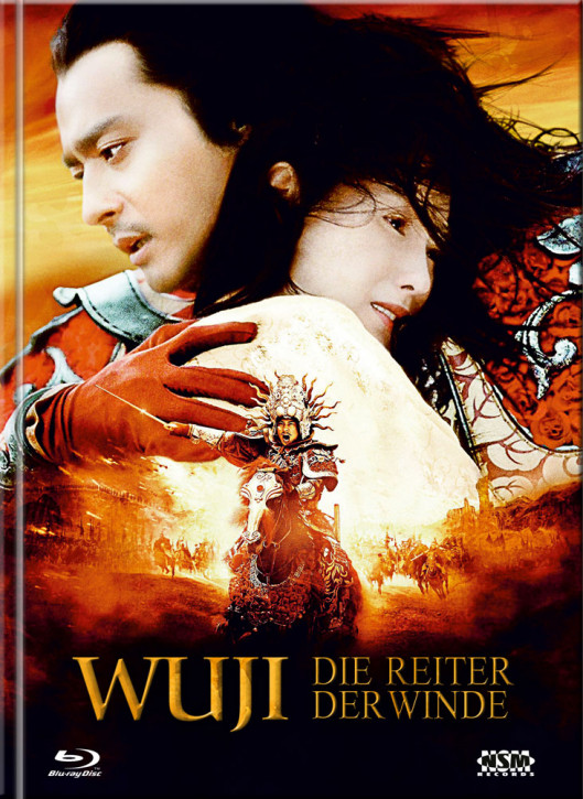 WU JI - Die Reiter Der Winde - Limited Mediabook Edition - Cover C [Blu-ray+DVD]