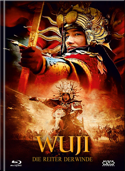 WU JI - Die Reiter der Winde - Limited Mediabook Edition - Cover E [Blu-ray+DVD]