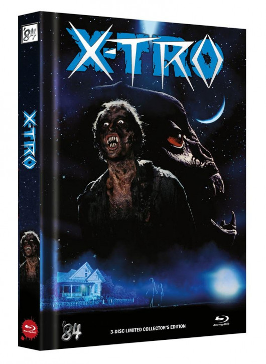 X-Tro - Limited Collector's Edition - Cover F [Blu-ray]