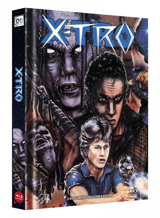 X-Tro - Limited Collector's Edition - Cover H [Blu-ray]