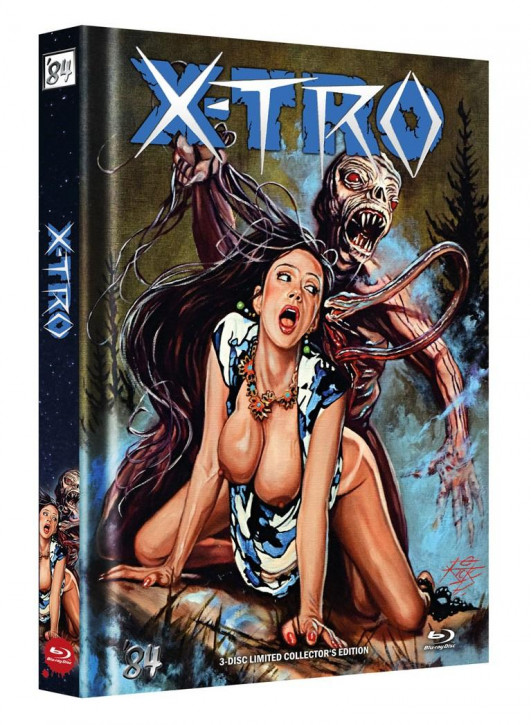 X-Tro - Limited Collector's Edition - Cover J [Blu-ray]