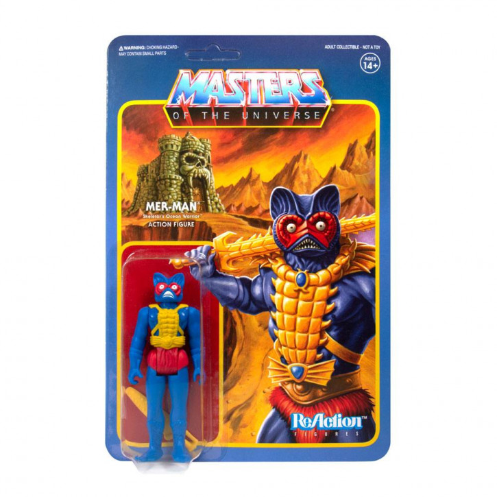Masters of the Universe: ReAction Actionfigur - Mer-Man