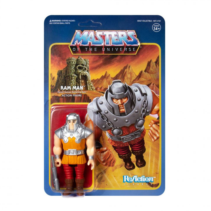 Masters of the Universe: ReAction Actionfigur - Ram Man