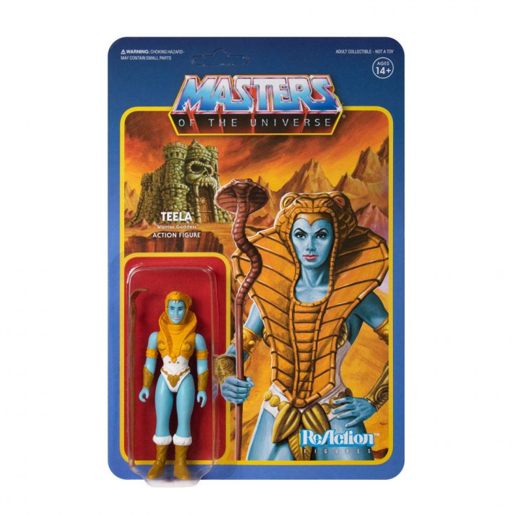 Masters of the Universe: ReAction Actionfigur - Teela