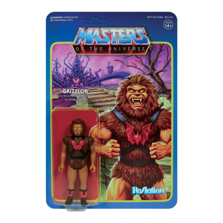 Masters of the Universe: ReAction Actionfigur - Grizzlor