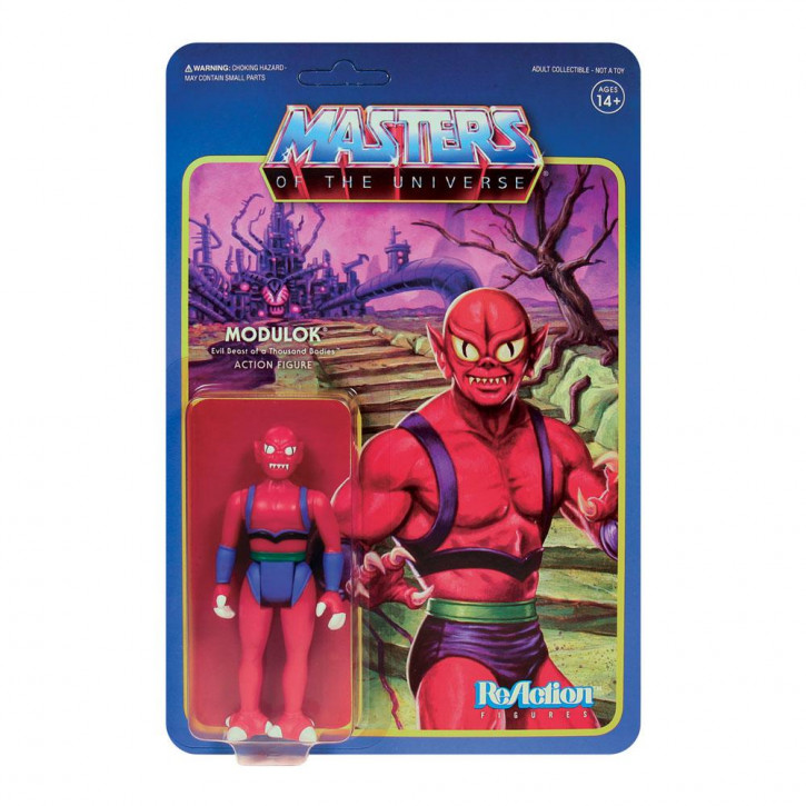 Masters of the Universe: ReAction Actionfigur - Modulok Nr.1