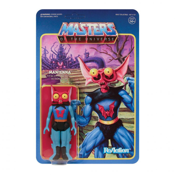 Masters of the Universe: ReAction Actionfigur - Mantenna