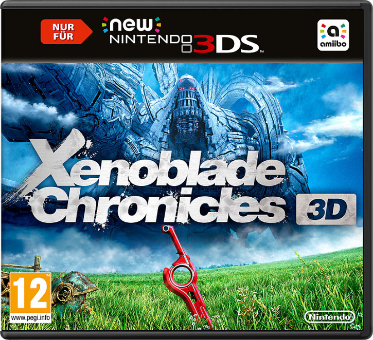 Xenoblade Chronicles 3D (AT-PEGI) [nur für New 3DS]