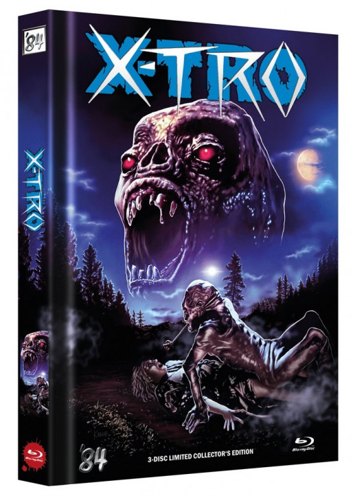 X-Tro - Limited Collector's Edition - Cover A [Blu-ray+DVD]