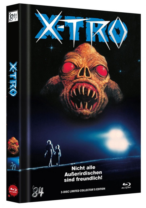 X-Tro - Limited Collector's Edition - Cover B [Blu-ray+DVD]