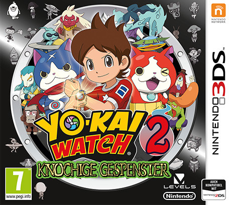 Yo-Kai Watch 2 - Knochige Gespenster [N3DS]