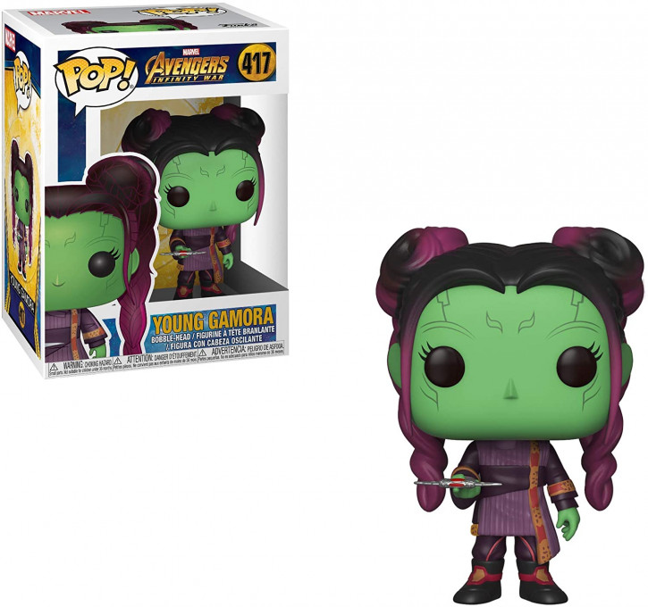 FunKo Movie: Avengers Infinity War - Young Gamora - Pop Vinyl Figure 417