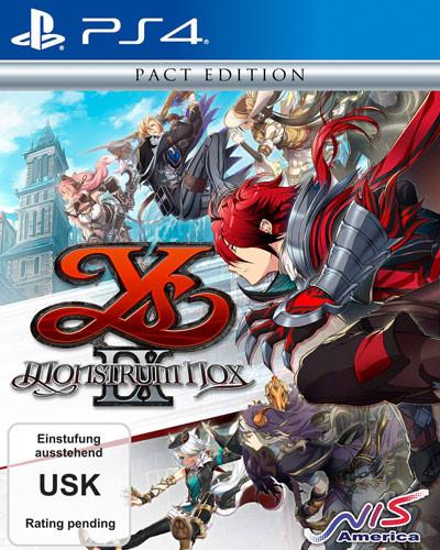 Ys IX Monstrum Noxa [PS4]