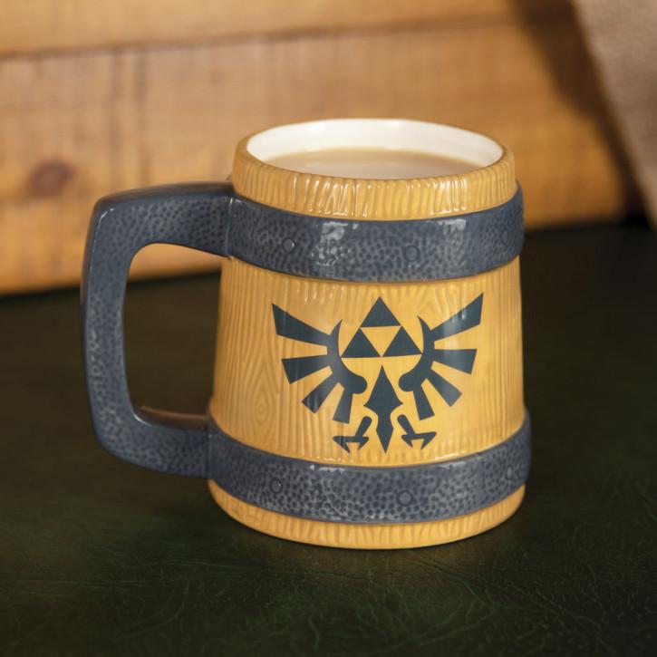 Zelda Bierkrug Hyrule Crest