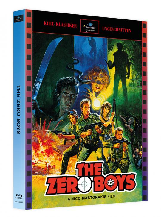 The Zero Boys - Mediabook - Cover A [Blu-ray]